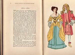 english costume 1670